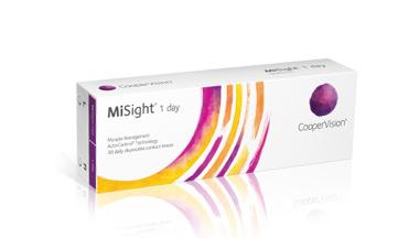 הכירו את MiSight(R) עדשות מגע יומיות עם טכנולוגיית
