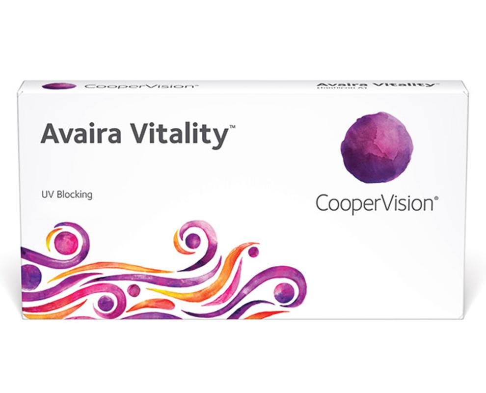 מגע עדשות Avaira Vitality™
